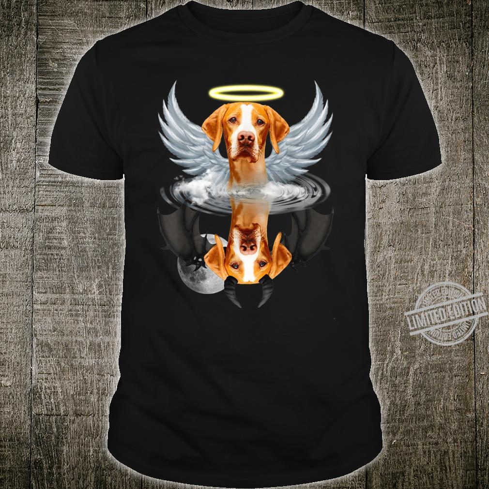 Angel English Pointer Shadow Under Water Devil Shirt