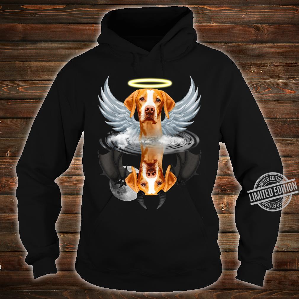 Angel English Pointer Shadow Under Water Devil Shirt hoodie
