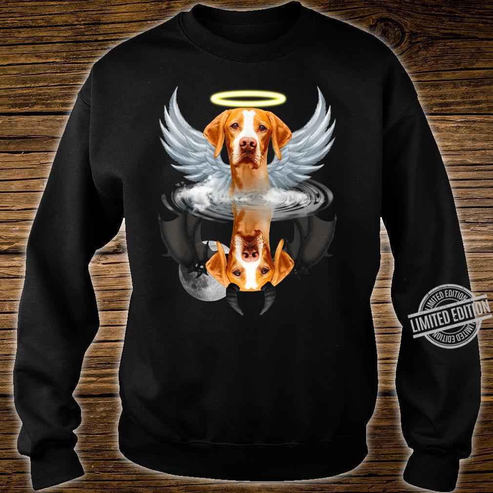 Angel English Pointer Shadow Under Water Devil Shirt sweater
