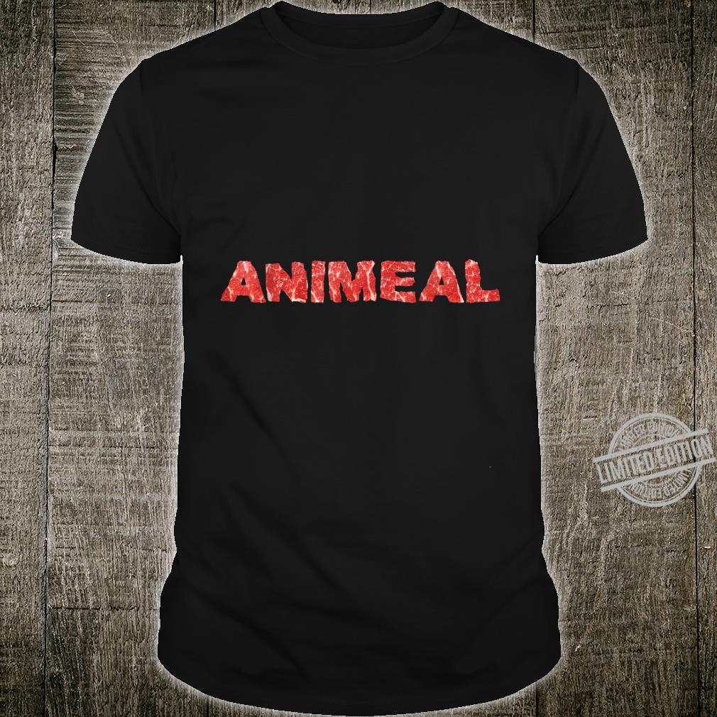 Animal Food Meat Eater Animeal Shirt