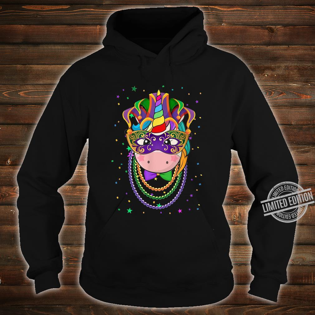 Animal Unicorn Masquerade Mardi Gras Shirt hoodie