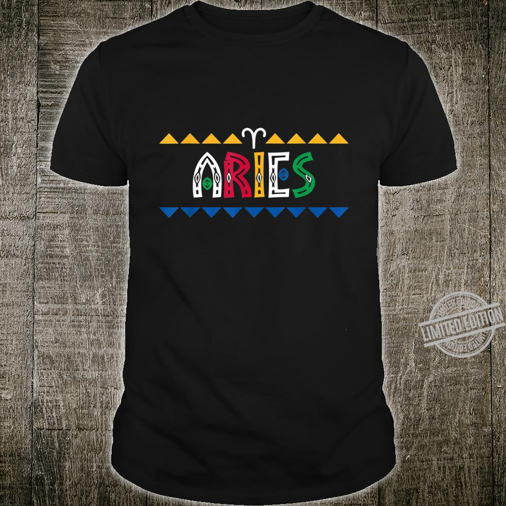 Aries History Month African American Shirt