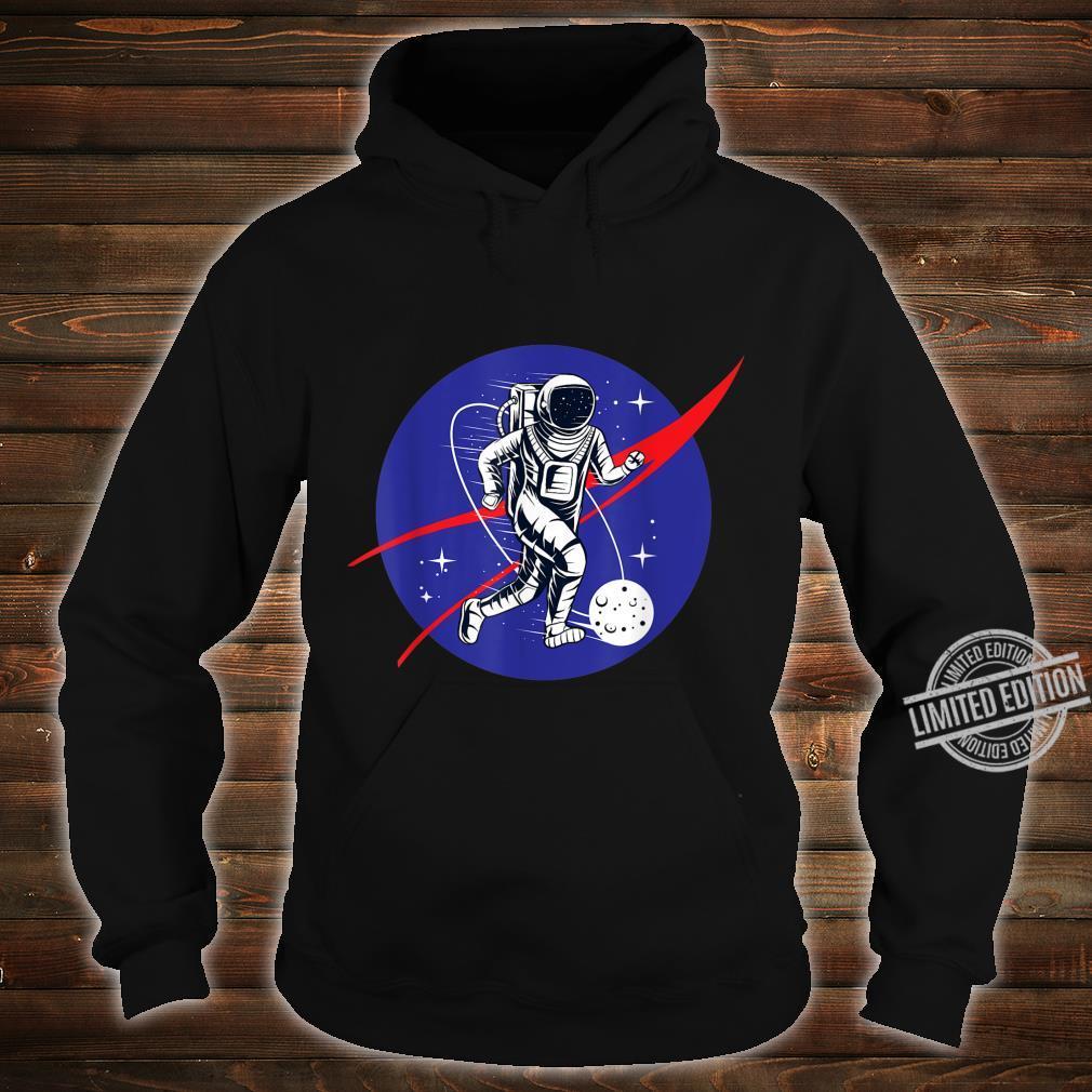 Astronaut Football Soccer Space Moon Galaxy Shirt hoodie