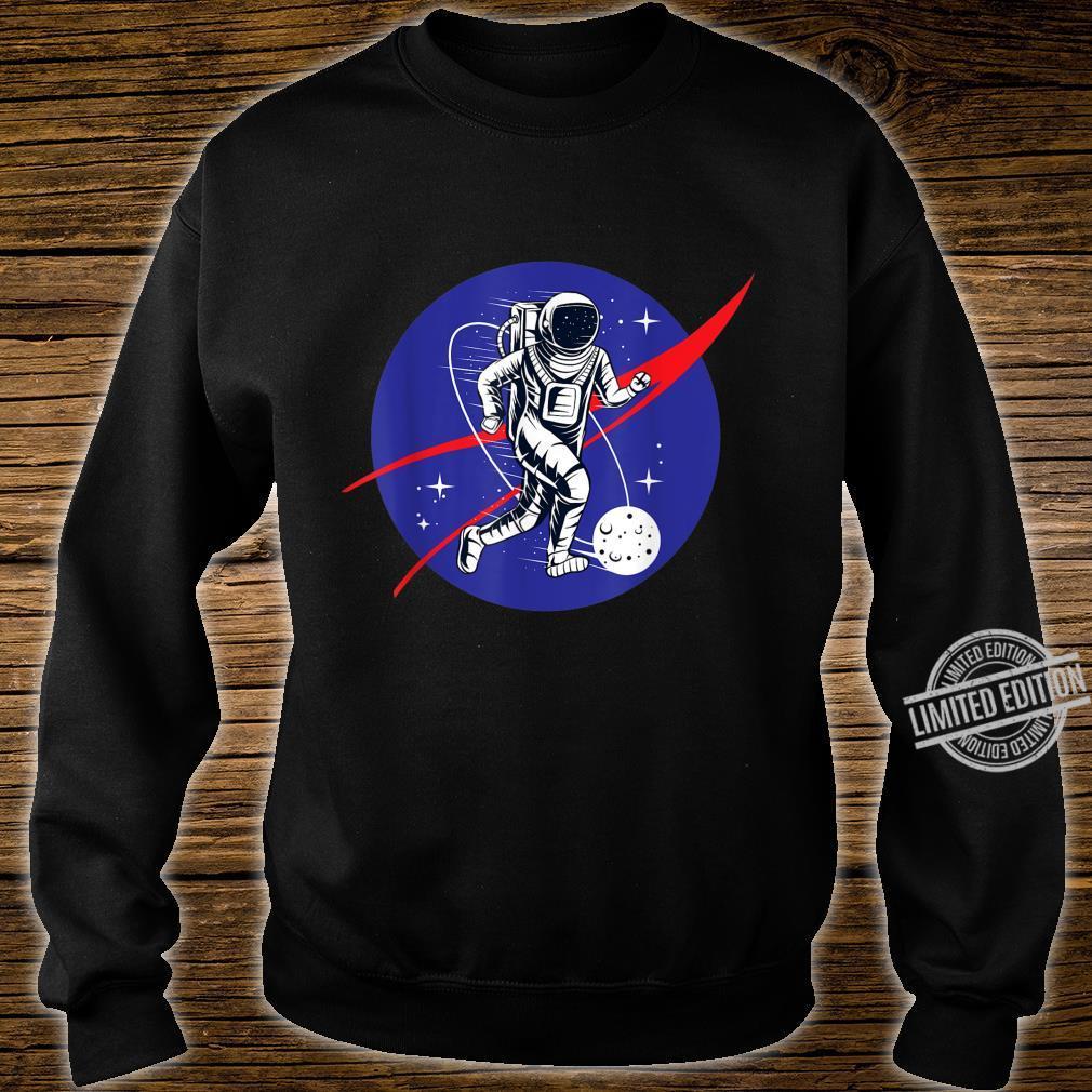 Astronaut Football Soccer Space Moon Galaxy Shirt sweater