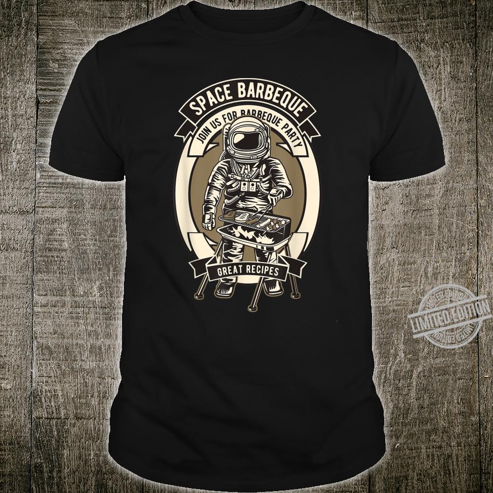 Astronaut space barbecue Shirt