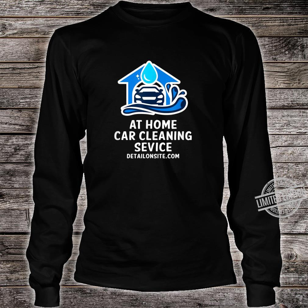 At Home Car Cleaning Service DetailOnSite.com Shirt long sleeved