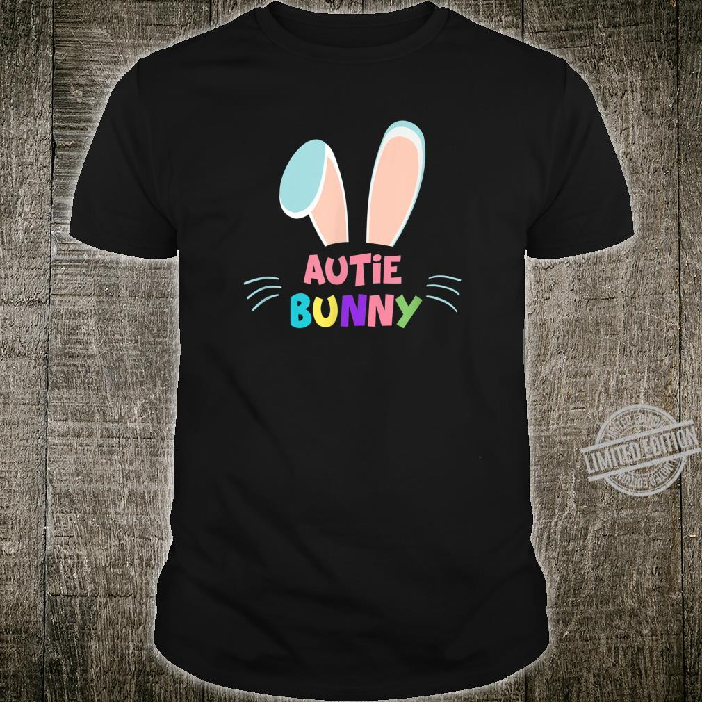 Auntie Bunny Cute Matching Family Easter Shirt Shirt