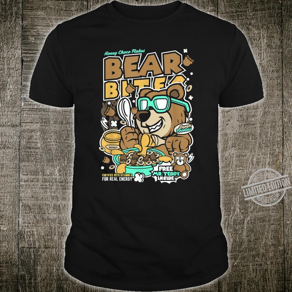 Bear Bites Men Funtoons Crunch Collection BEAR Shirt
