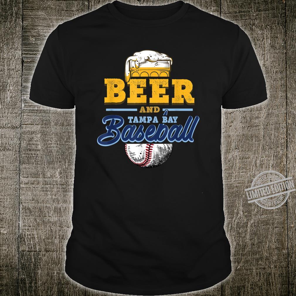 Beer and Tampa Bay Baseball Fun Ballpark Tailgating Fan Shirt
