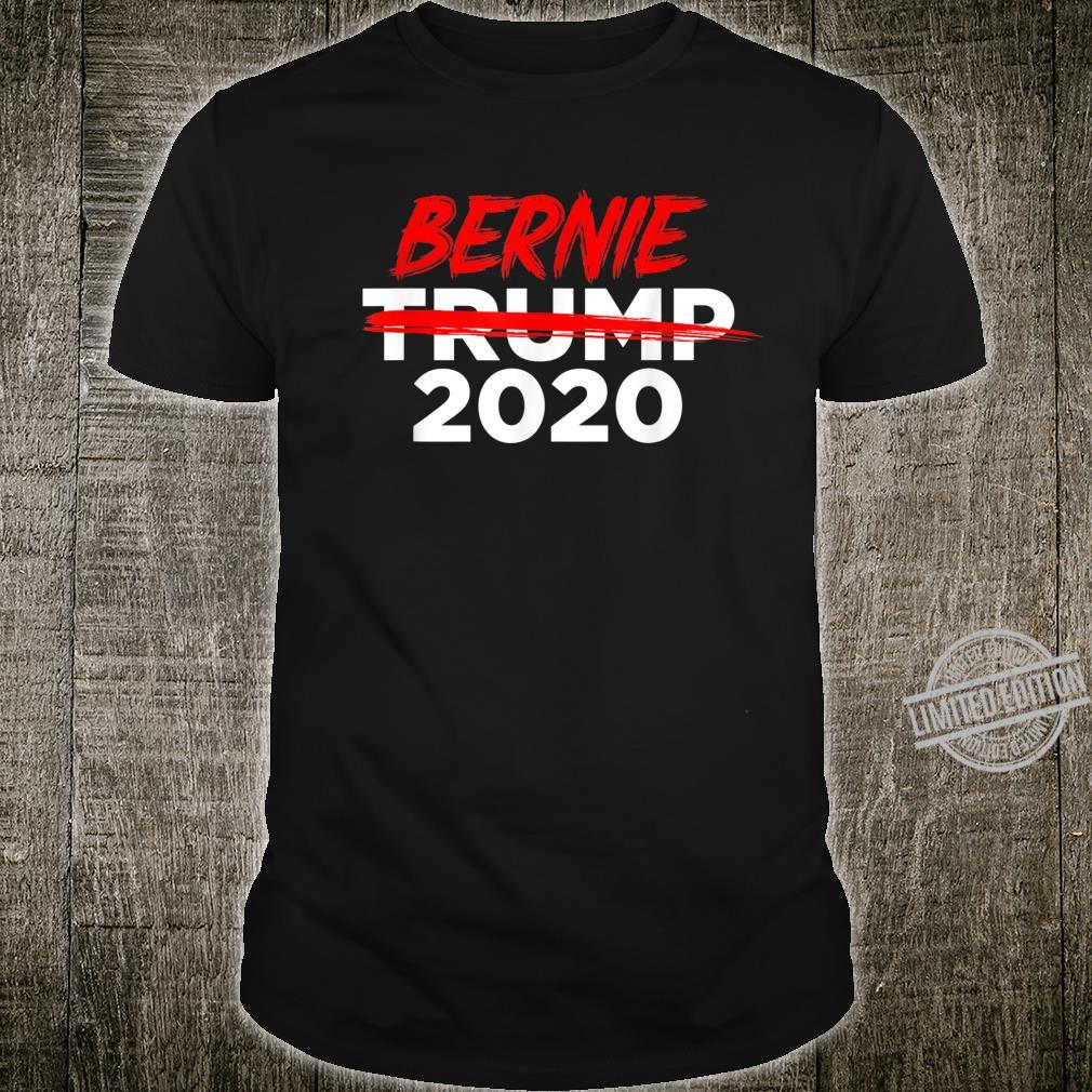 Bernie 2020 AntiTrump Crossed Out Win President Election Shirt