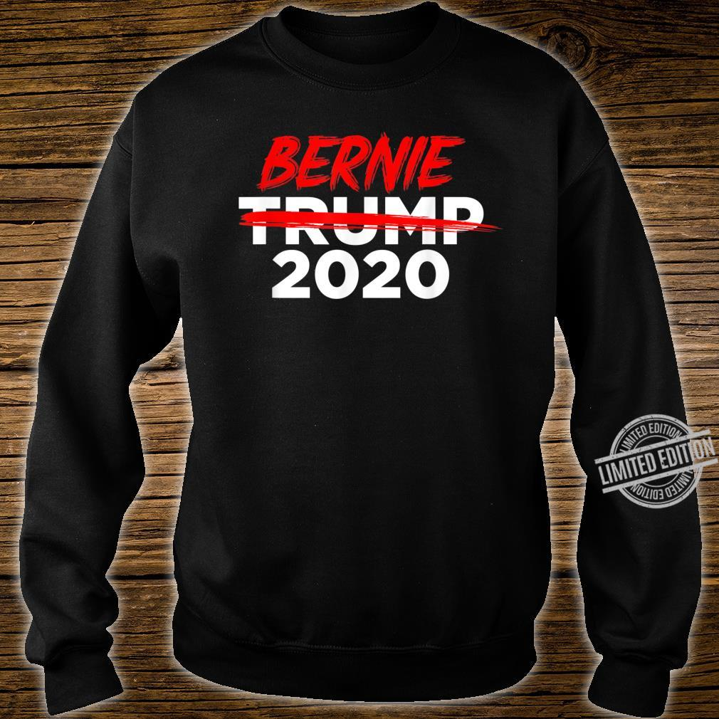 Bernie 2020 AntiTrump Crossed Out Win President Election Shirt sweater
