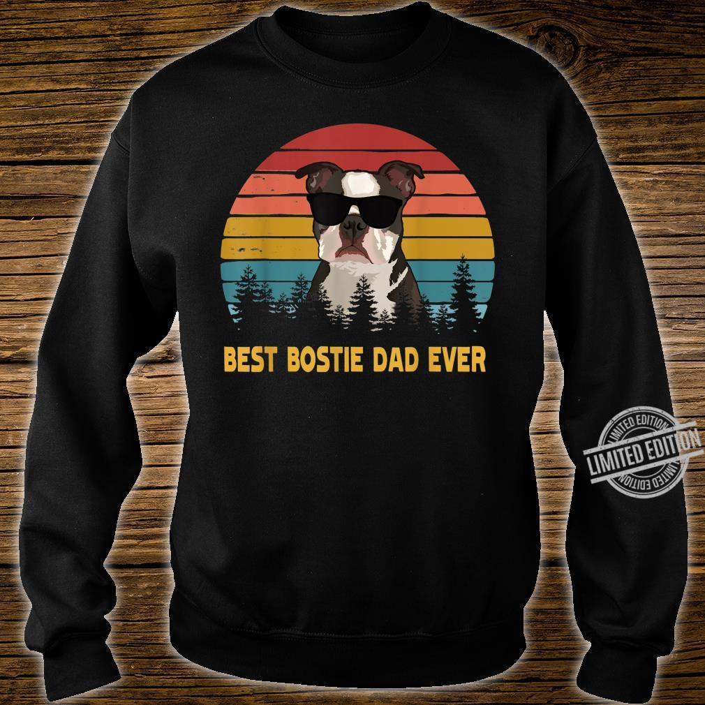 Best Bostie Dad Ever Boston Terrier Dog Father's Day Shirt sweater