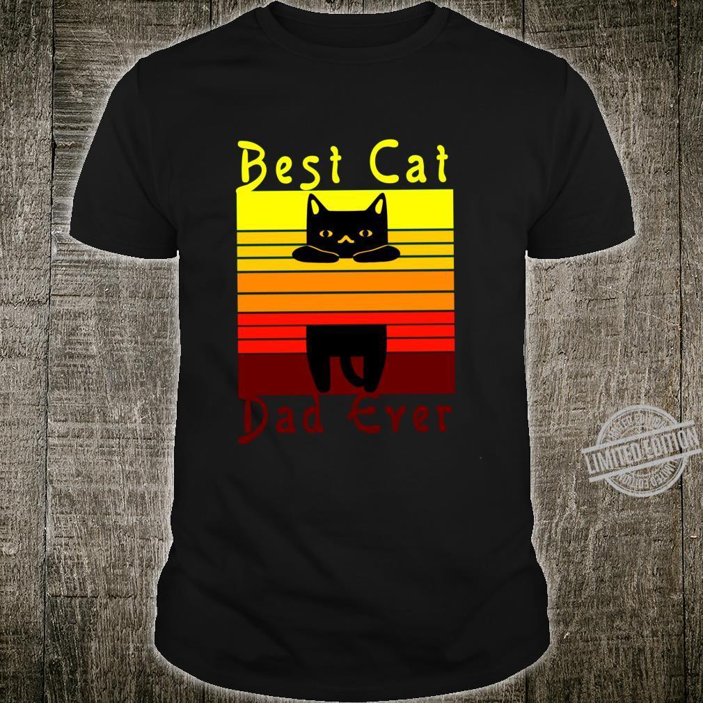 Best Cat Dad Ever cat Shirt