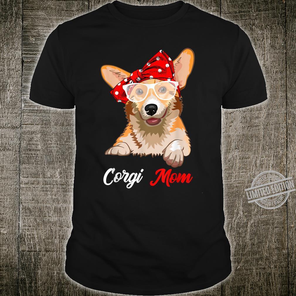 Best Corgi Mom Ever Dog Mom Vintage Shirt