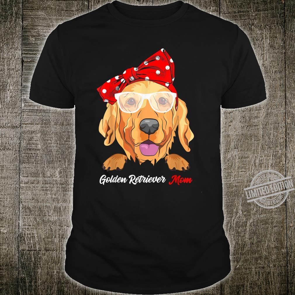 Best Golden Retriever Mom Ever Dog Mom Vintage Shirt