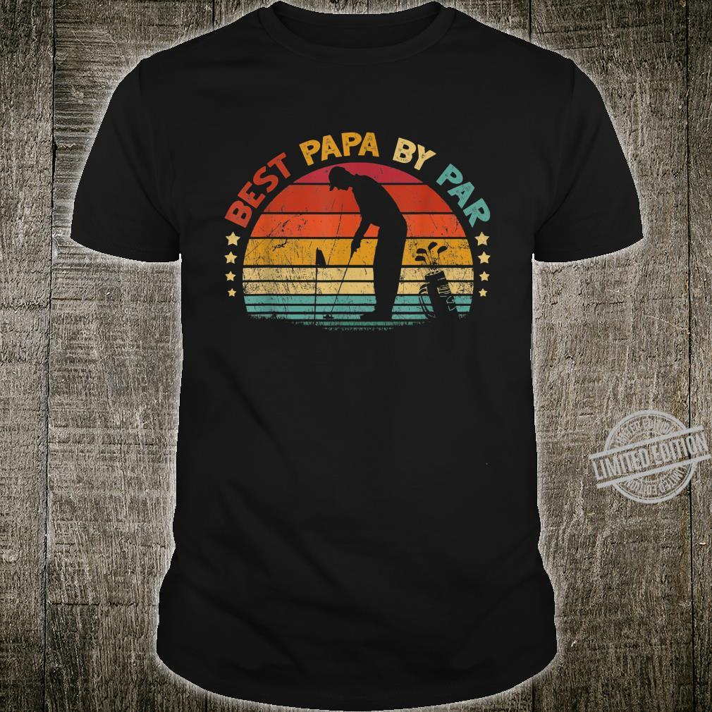 Best Papa By Par Father's Day Golf Shirt