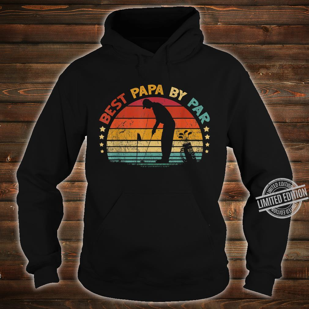 Best Papa By Par Father's Day Golf Shirt hoodie