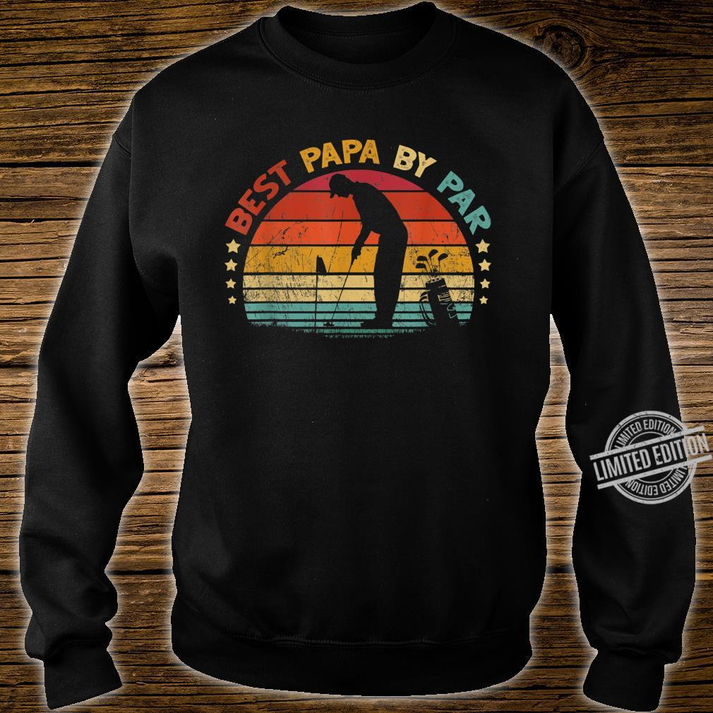 Best Papa By Par Father's Day Golf Shirt sweater