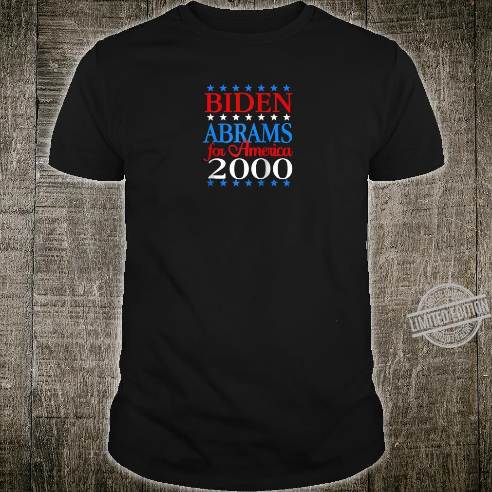 Biden Abrams for America 2020 Democrat President AntiTrump Shirt