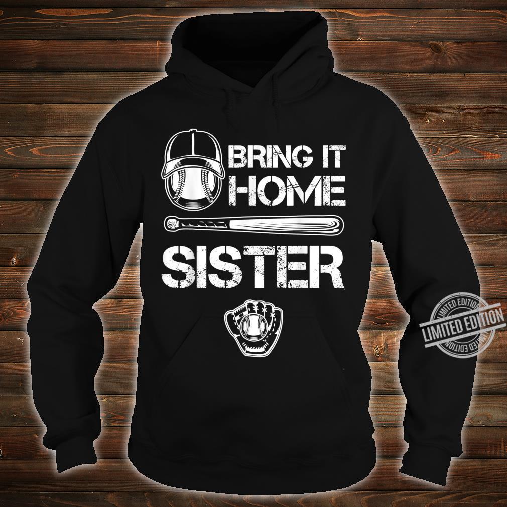 Big and little Sister Baseball Player Sis Catcher Pitcher Shirt hoodie