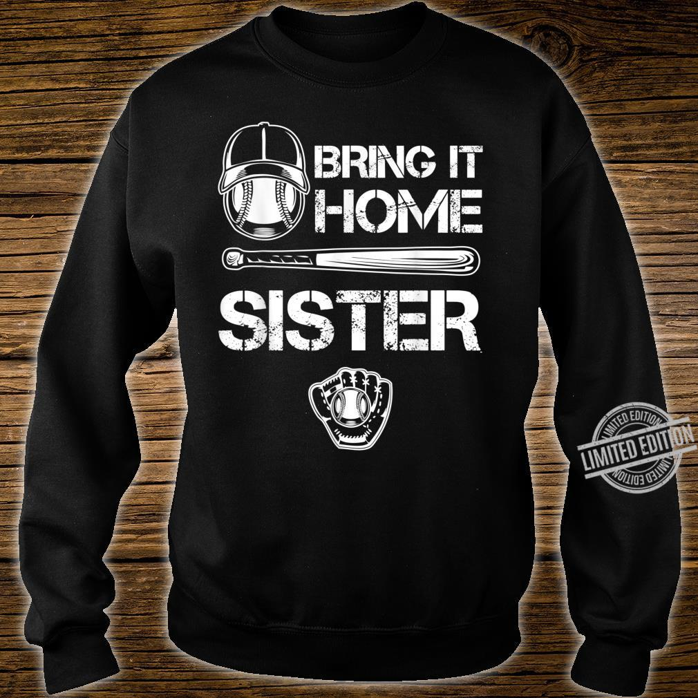 Big and little Sister Baseball Player Sis Catcher Pitcher Shirt sweater