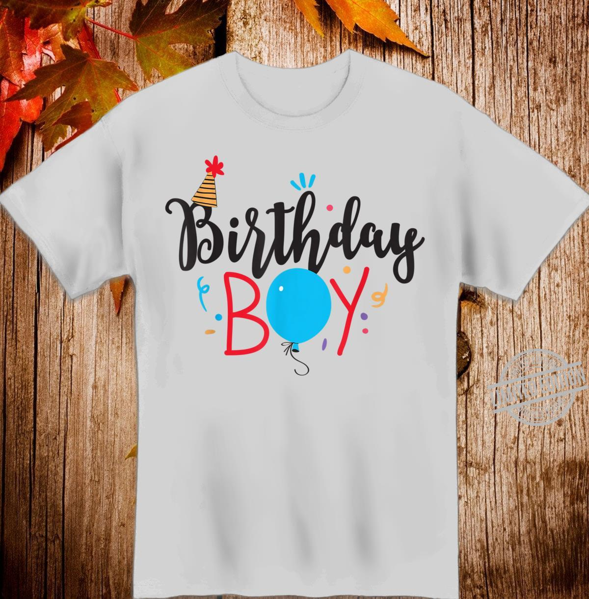 Birthday Boy, for party, mom dad, and all family Shirt