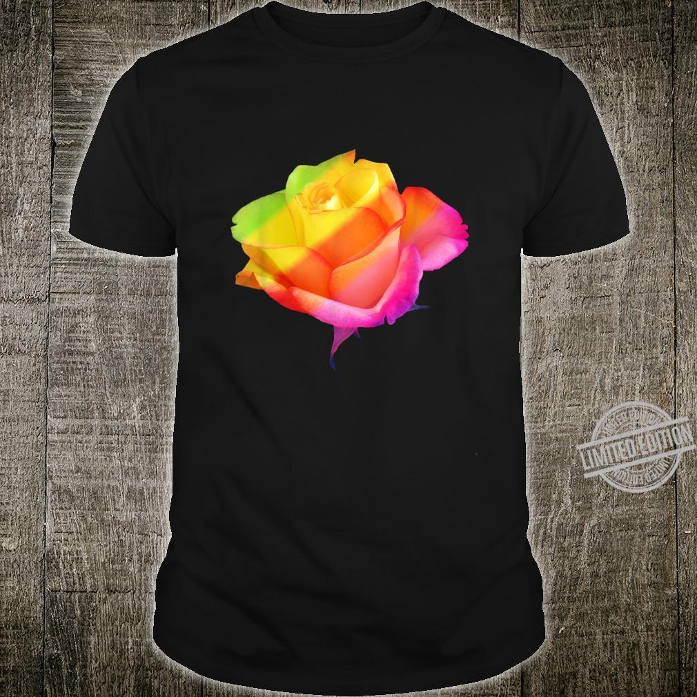 Blooming rainbow rose, roses, flower, flowers, blooms, petal Shirt