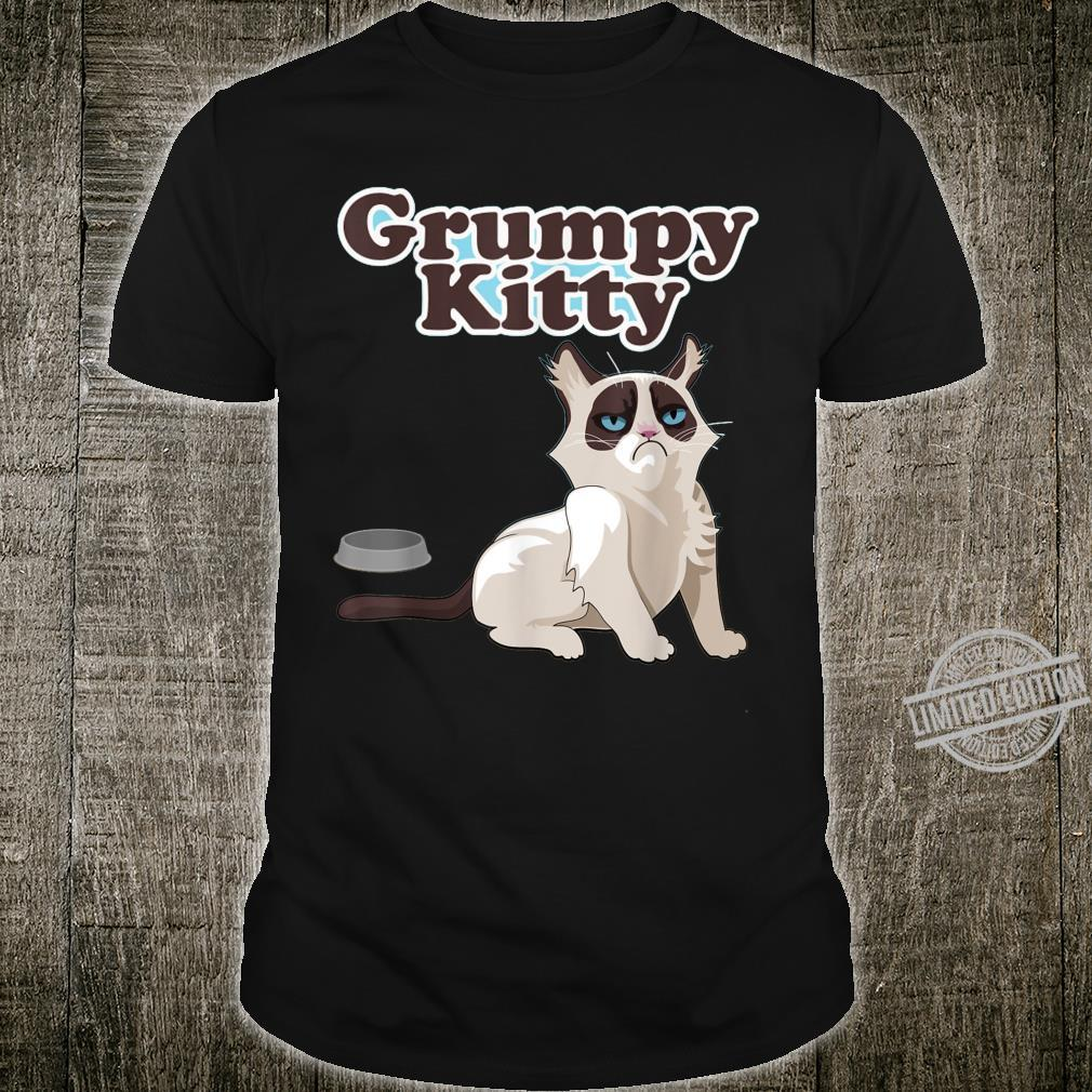 CUTE GRUMPY KITTY CAT Sweats Shirt