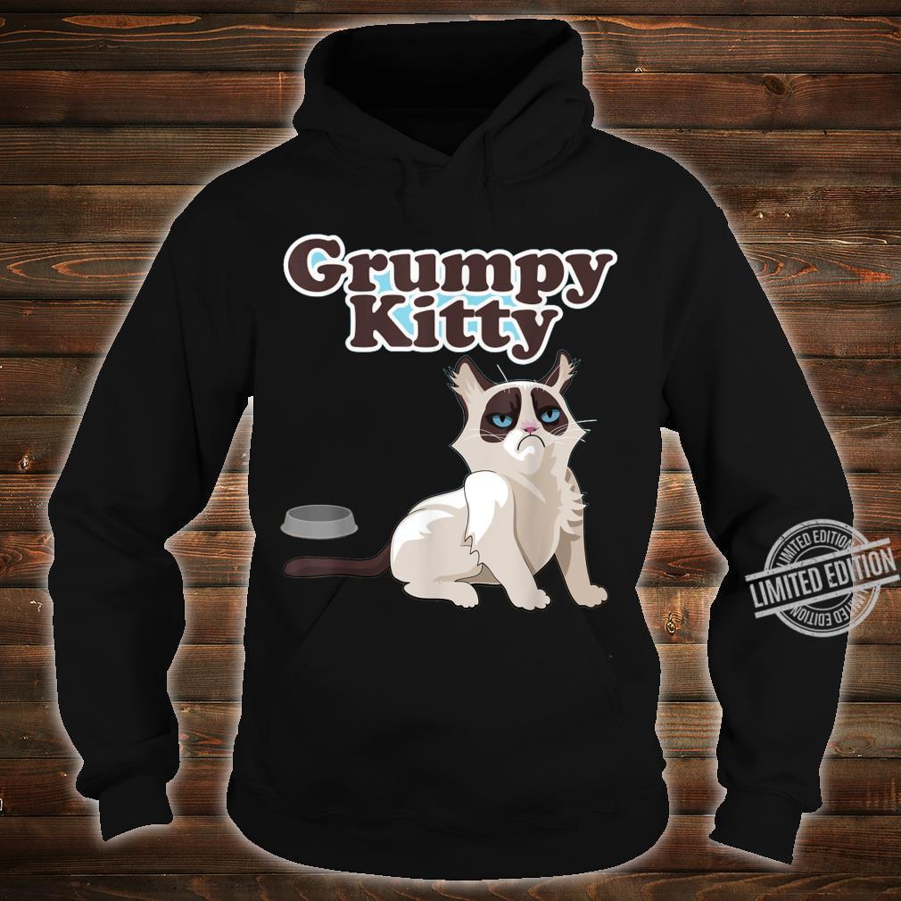 CUTE GRUMPY KITTY CAT Sweats Shirt hoodie