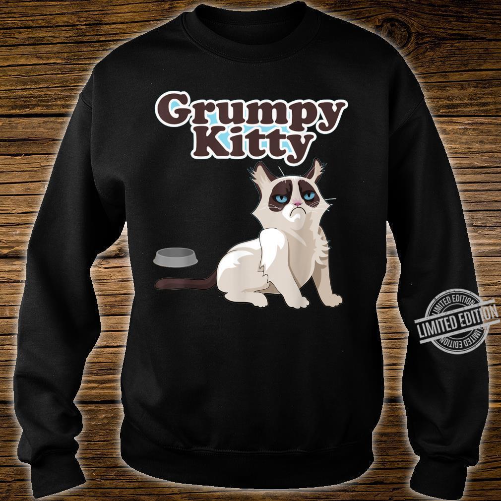 CUTE GRUMPY KITTY CAT Sweats Shirt sweater