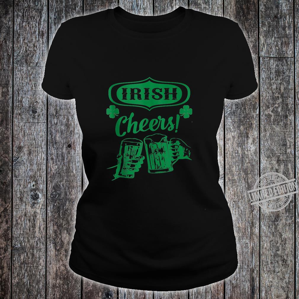 Cheers Good Health St. Patrick's Day Shirt ladies tee