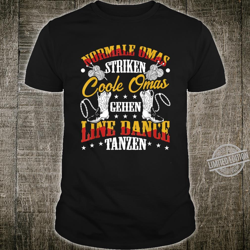 Coole Omas Tanzen Line Dance Shirt