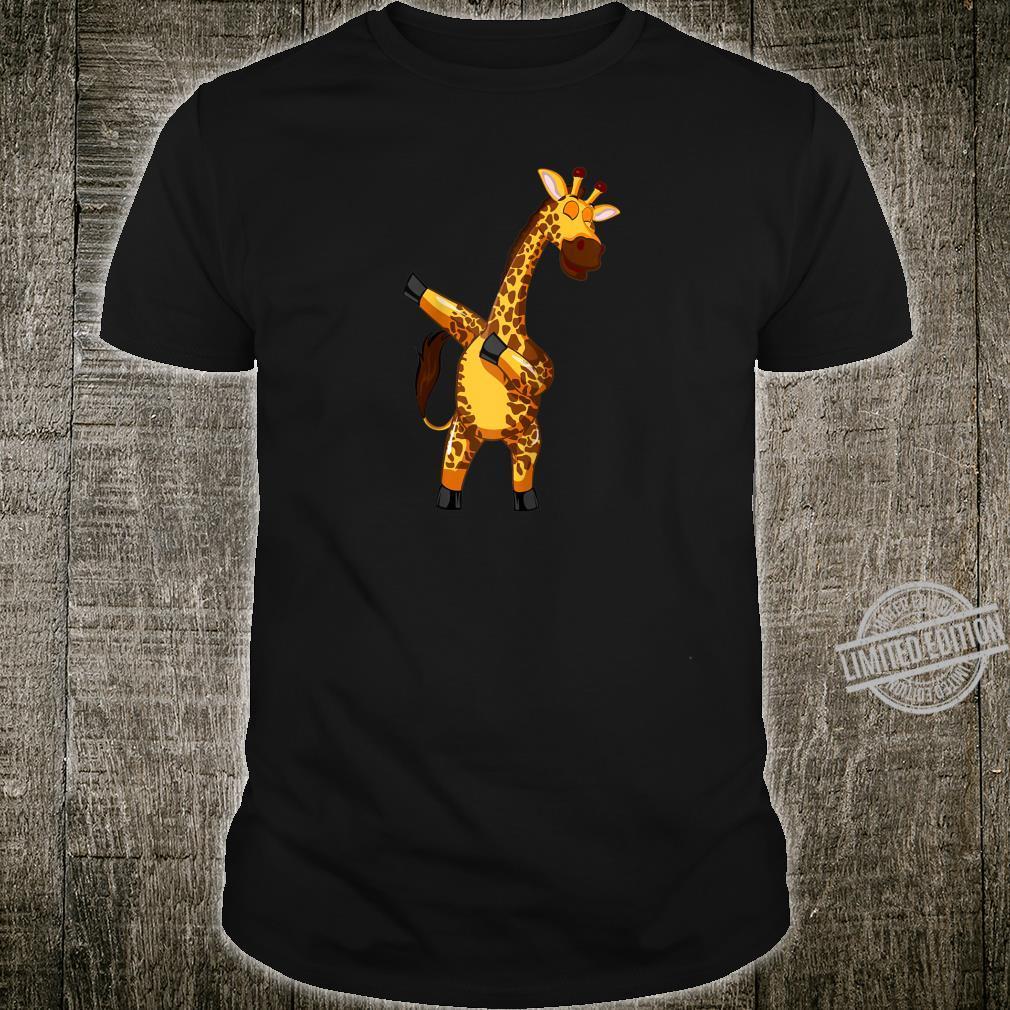 Dabbing Giraffe Dancing Animals Shirt