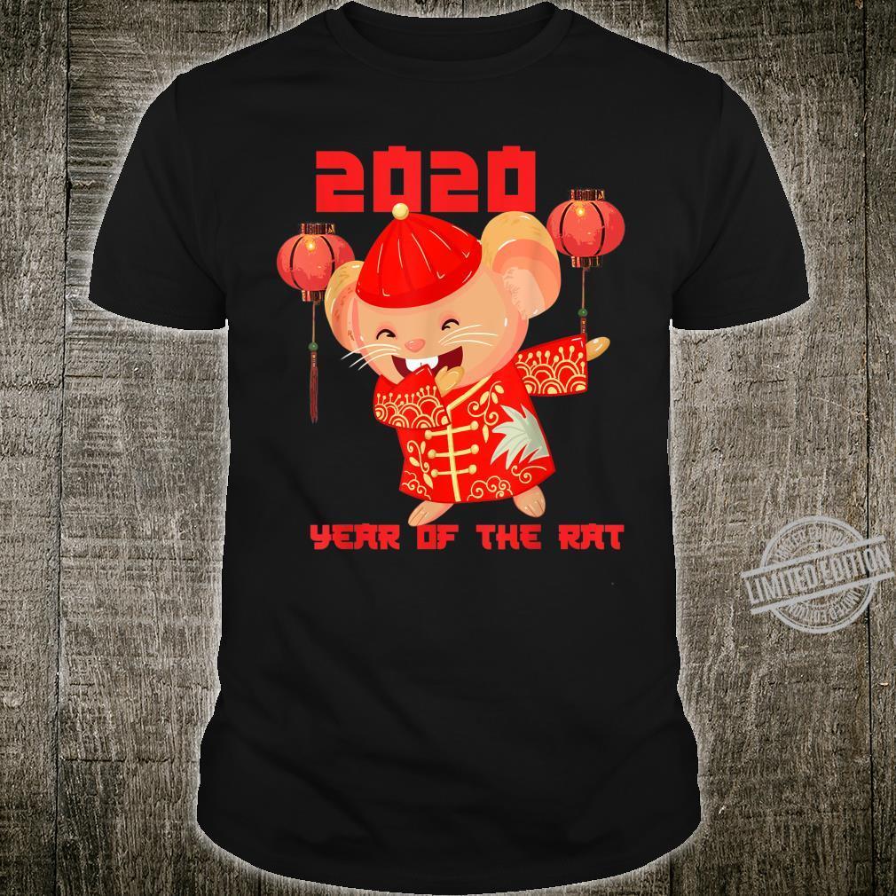 Dabbing Year Of The Rat 2020 Lunar Chinese New Year Zodiac Shirt