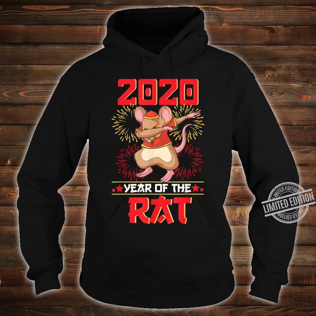 Dabbing Year Of The Rat Shirt Happy Chinese New Year 2020 Shirt hoodie