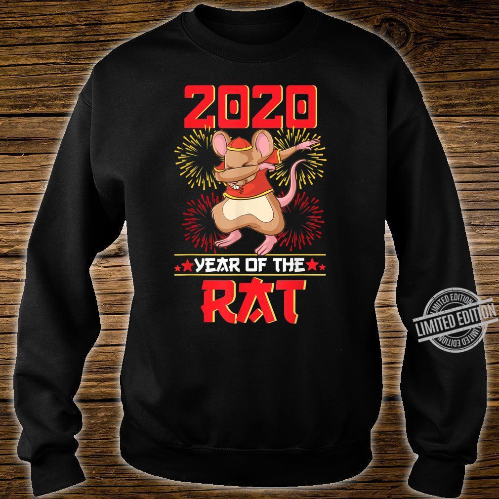 Dabbing Year Of The Rat Shirt Happy Chinese New Year 2020 Shirt sweater