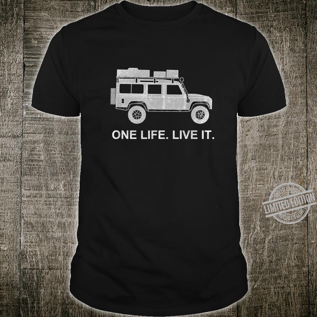 Dachzelt Offroad 4x4 Reisefahrzeug Shirt