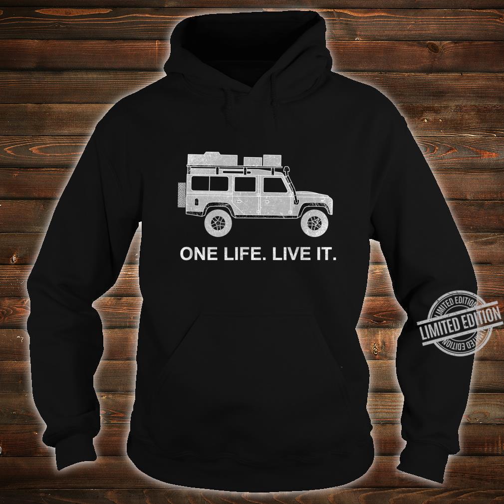 Dachzelt Offroad 4x4 Reisefahrzeug Shirt hoodie