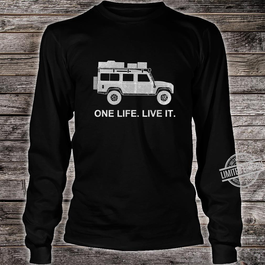 Dachzelt Offroad 4x4 Reisefahrzeug Shirt long sleeved