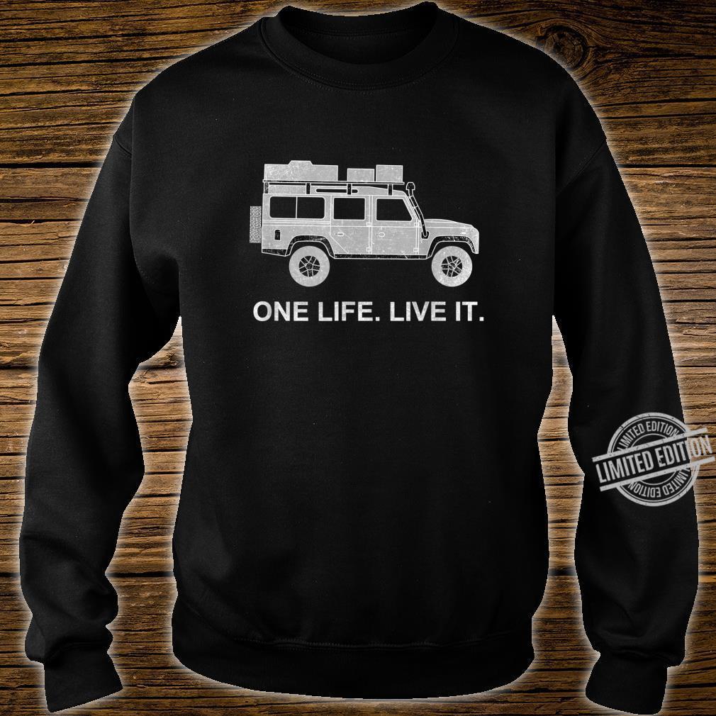 Dachzelt Offroad 4x4 Reisefahrzeug Shirt sweater
