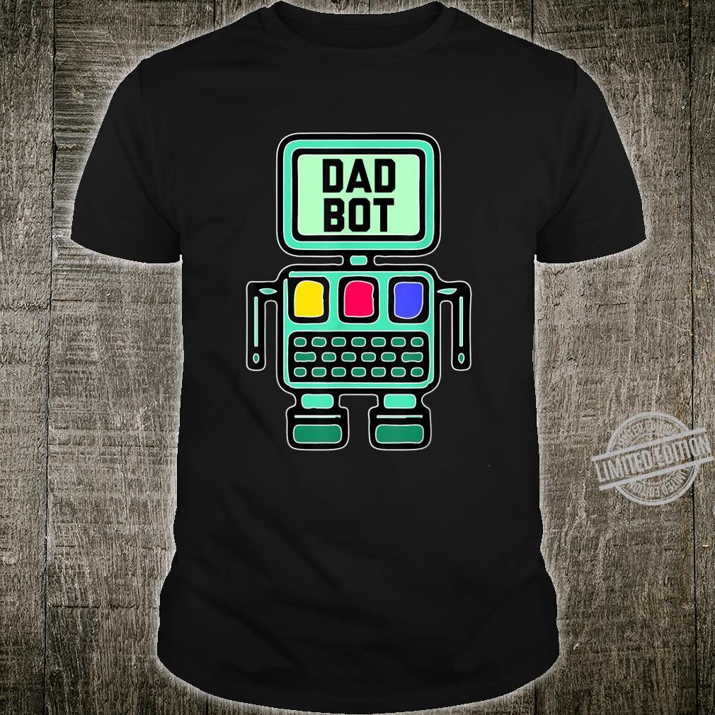 Dad Robot Shirt