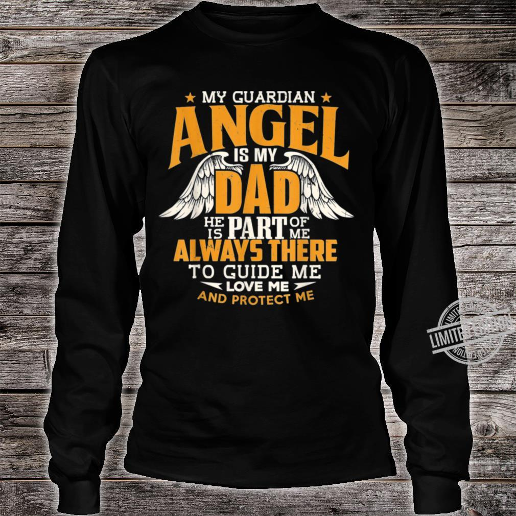 Daddy Memorial Day My Guardian Angel Is Dad Shirt long sleeved
