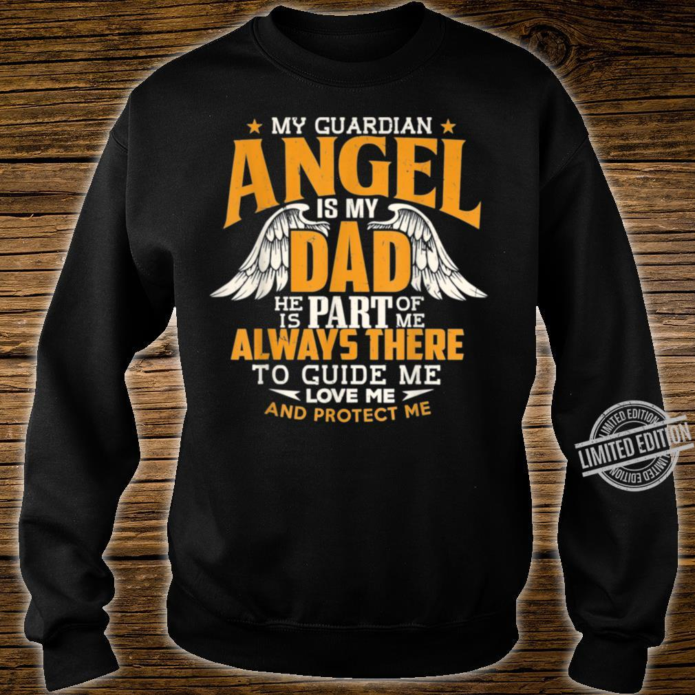 Daddy Memorial Day My Guardian Angel Is Dad Shirt sweater