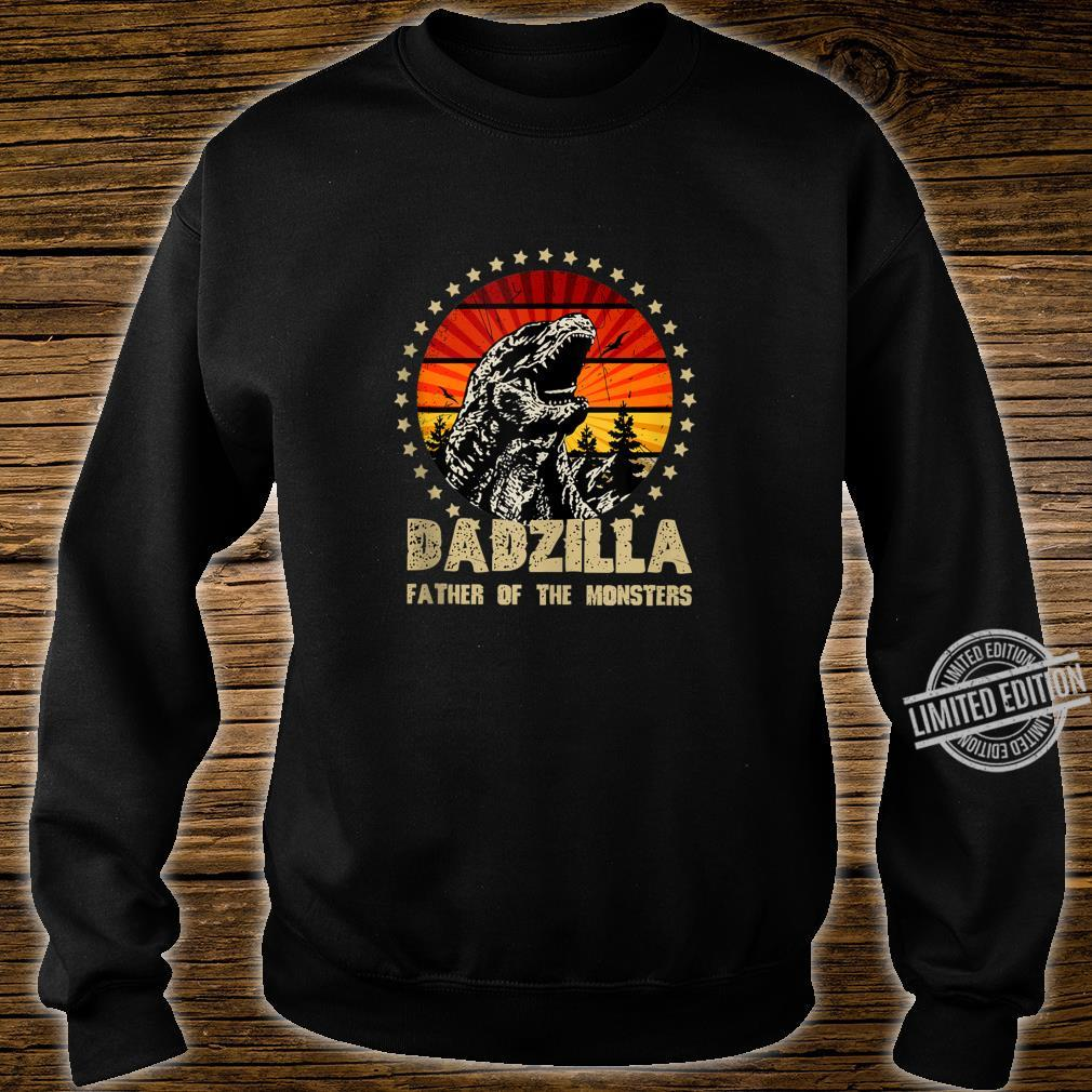 Dadzilla Father Of The Monsters Retro Shirt sweater