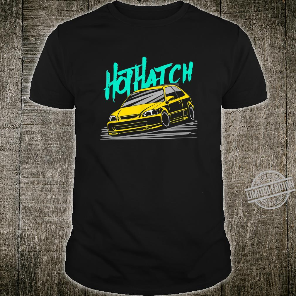 Daily Culture Hot Hatch Yellow Shirt