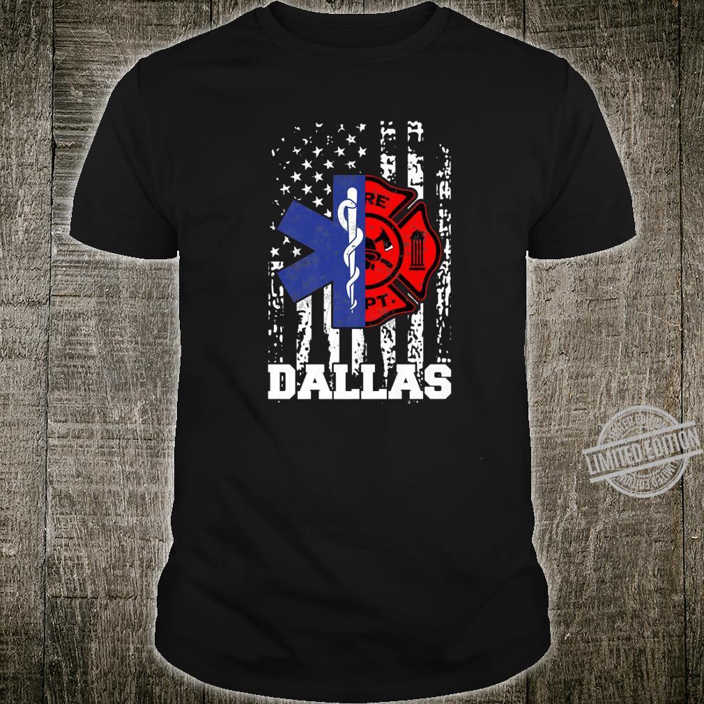 Dallas EMT Firefighter Shirt Firefighter EMT Fireman Shirt