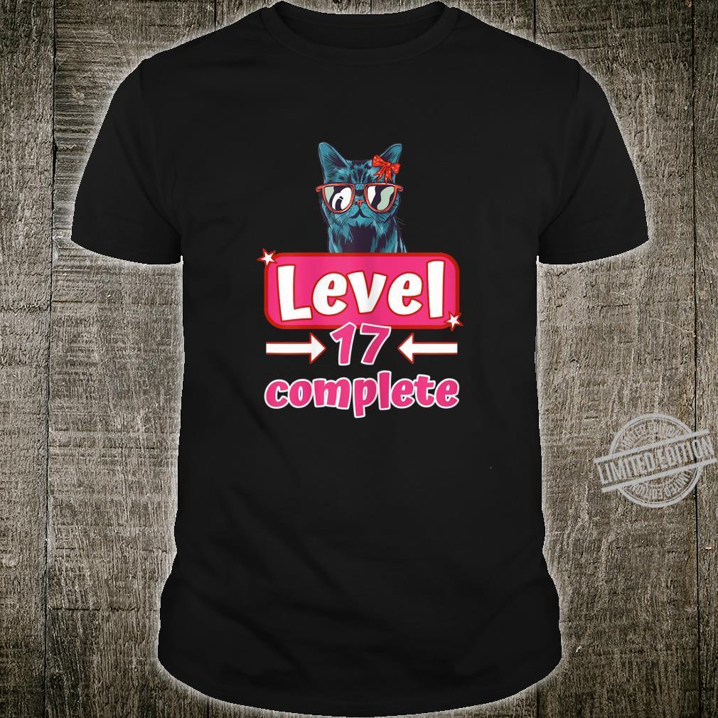 Damen 17ter Geburtstag Mädchen Geschenk zum 17. Geburtstag Shirt