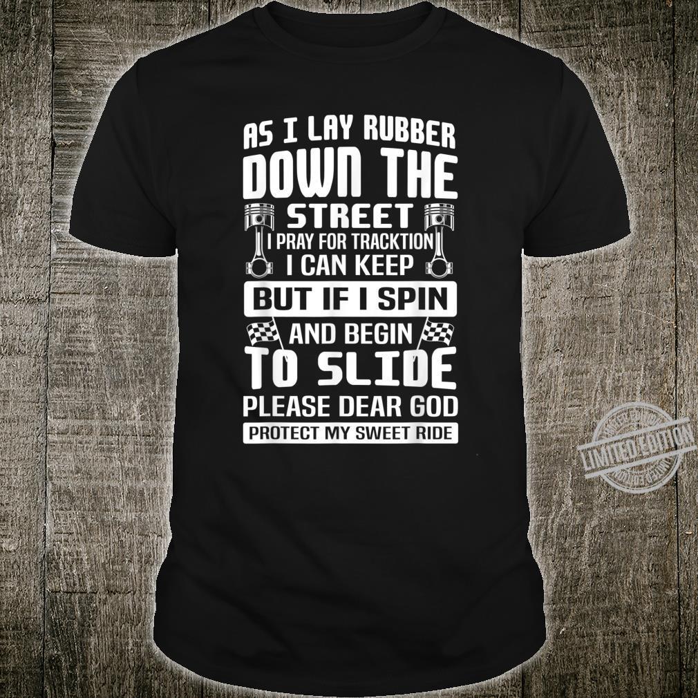 Dear God Protect My Sweet Ride, Motorcycles Biker Shirt