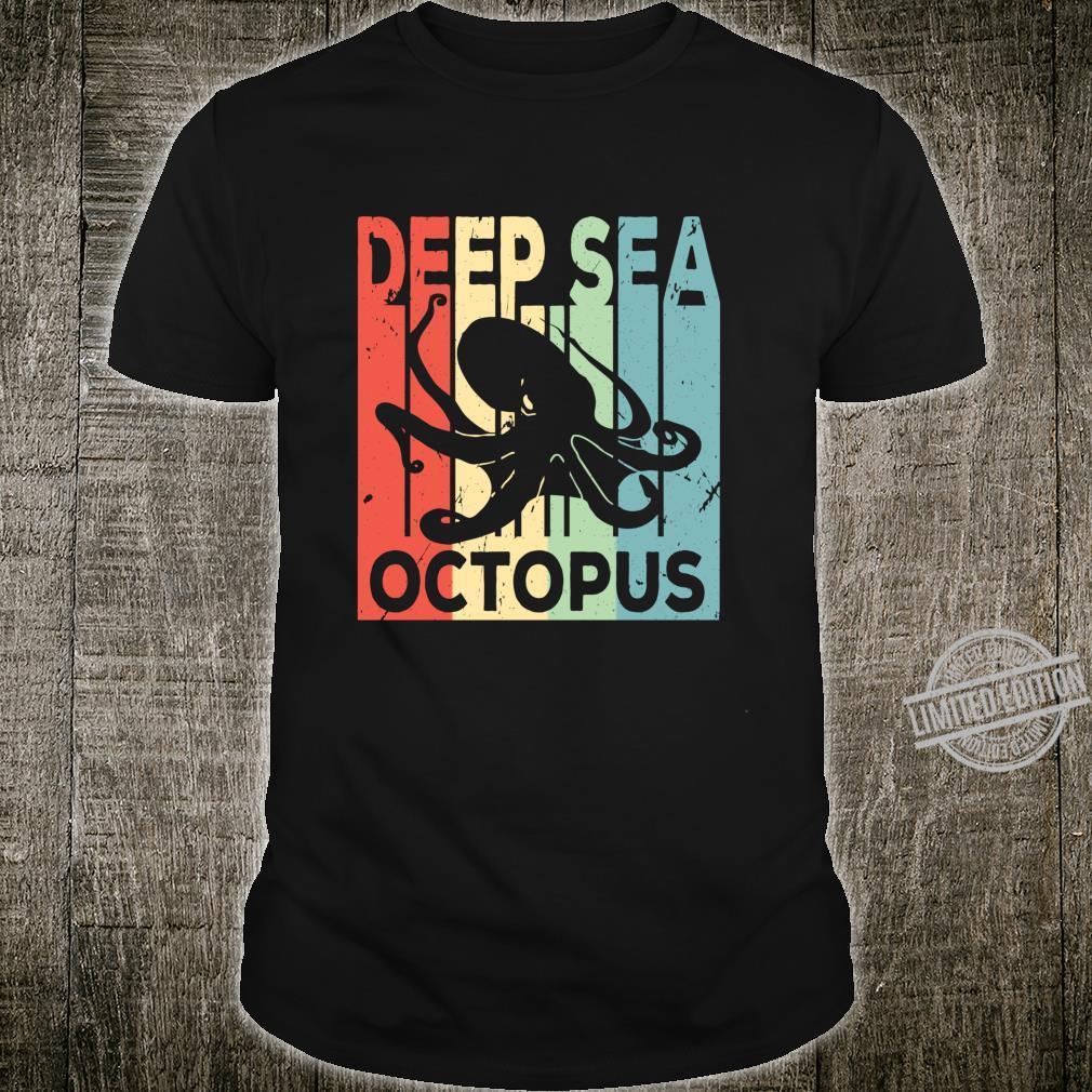 Deep Sea Octopus Vintage Shirt