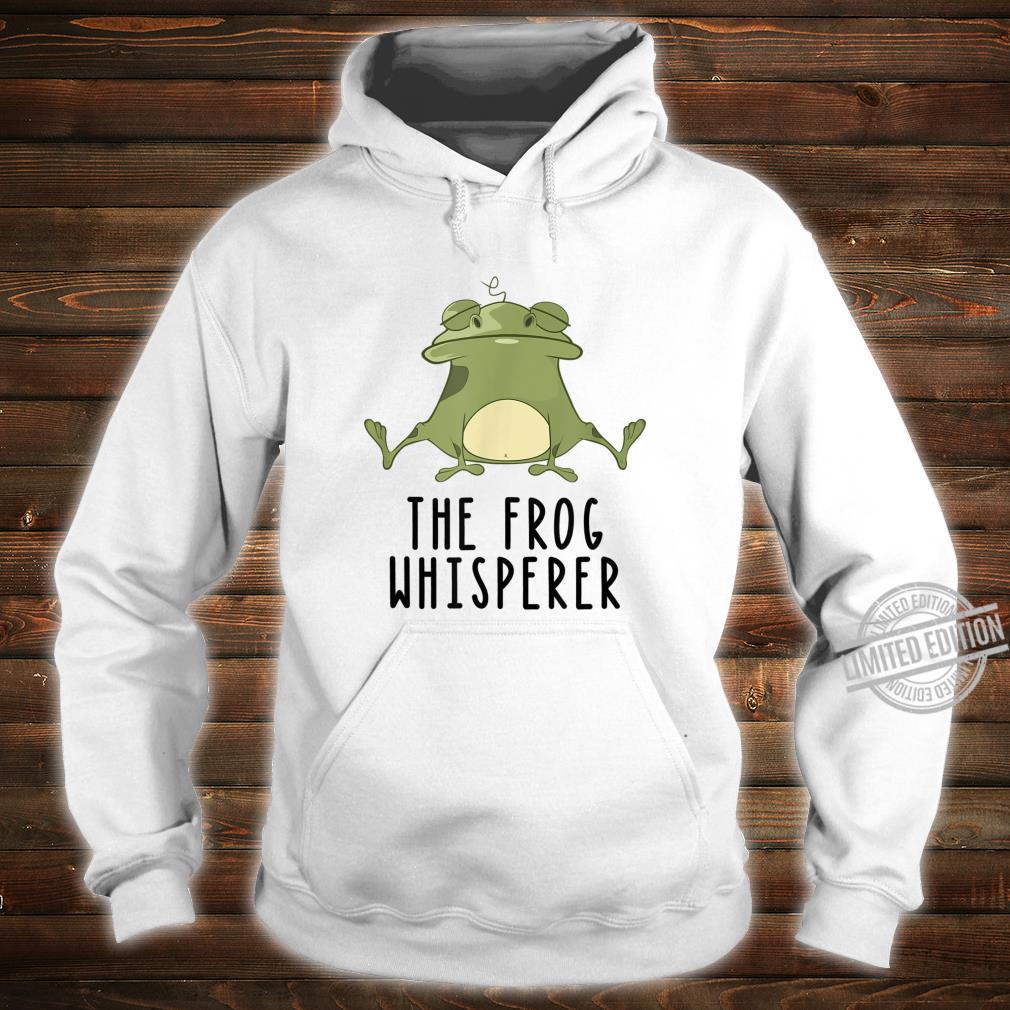 Der Frosch Whisperer Niedlich Lustige Kröte Liebhaber Shirt hoodie